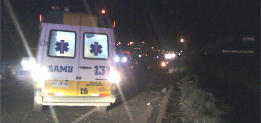 Angelino.cl - Un herido grave dejo accidente entre camión y automóvil en km 12 camino a Nacimiento (Ruta Los Ángeles-Nacimiento)