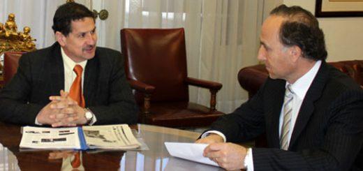 Alcalde Eduardo Borgoño y Ministro de Justicia Teodoro Ribera; Señales claras indican que no se reconstruirá el centro de detención de Los Ángeles