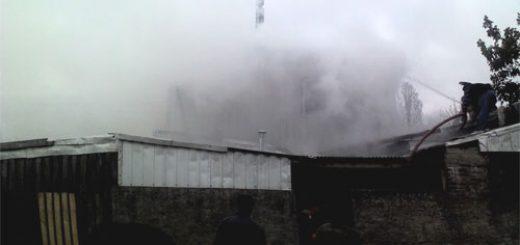 Angelino.cl - Incendio afecta a vivienda de población O'Higgins en Los Ángeles