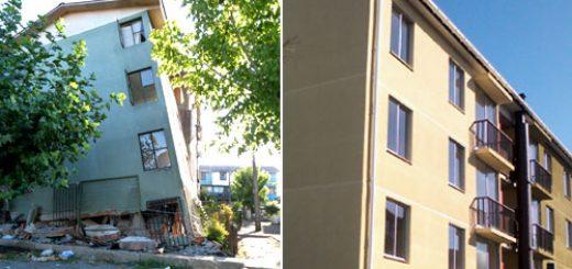 Angelino.cl - Construcción Conjunto Villa Galvarino para 128 familias, sector Santiago Bueras de Los Ángeles