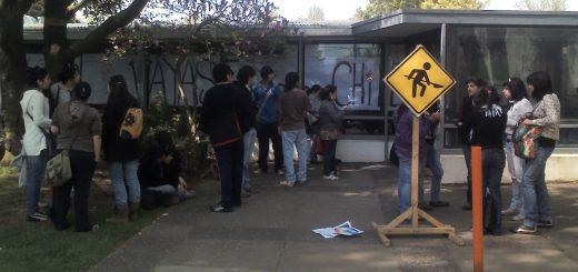 Nueva toma efectuaron grupo de alumnos de U. de Concepción Campus Los Ángeles