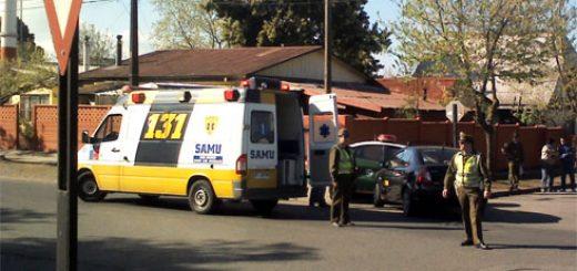 Angelino.cl - Una patrulla de Carabineros fue colisionada por un taxi-colectivo en Los Ángeles