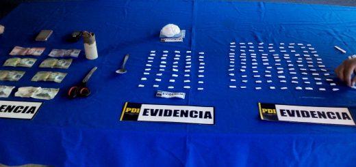 400 dosis de cocaína base portaban 3 microtraficantes detenidas por la PDI en Los Ángeles