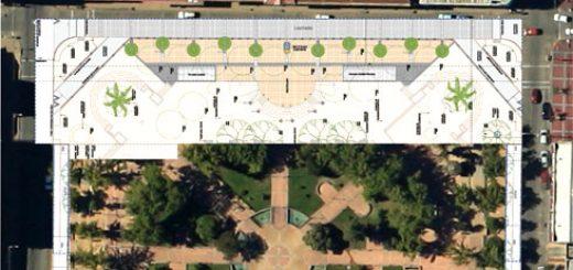 Los Ángeles; Obras por construcción de estacionamientos subterráneos; No trasladaran palmeras y atrasan cierre de calle Lautaro