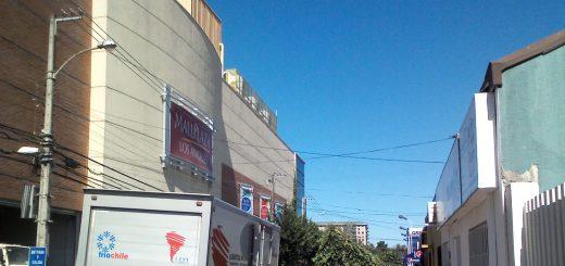 Mall Plaza Los Ángeles ofrece 12 mil UFs por adjudicarse la concesión del espacio aéreo sobre calle Rengo por 35 años