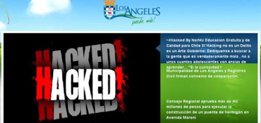 """Hackean Web Municipal de Los Ángeles, con llamado a """"Educacion Gratuita y de Calidad para Chile"""""""
