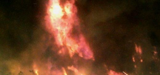 Incendios en Laja y Los Ángeles mantienen en alerta roja a Biobío