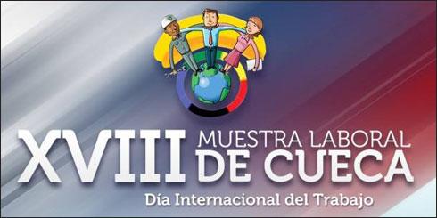 Día Internacional del Trabajo; XVIII Muestra Laboral de Cueca en Los Ángeles