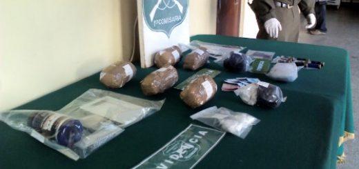 Desbaratan banda de narcotraficantes e incautan 6 kilos de pasta base y cocaína