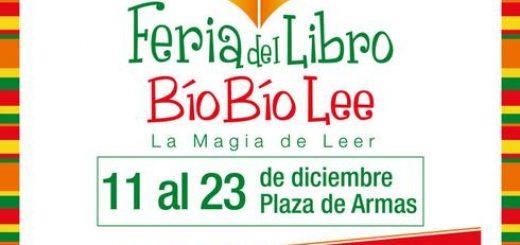 """Feria del Libro """"Bío Bío Lee""""... La Magia de Leer, desde el 11 al 23 de diciembre en Plaza de Armas"""