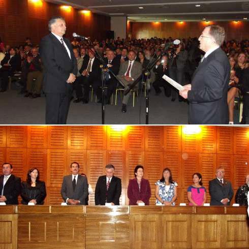 Esteban Krause asume como alcalde de Los Ángeles. Nuevo Concejo Municipal de Los Ángeles para el período 2012-2016