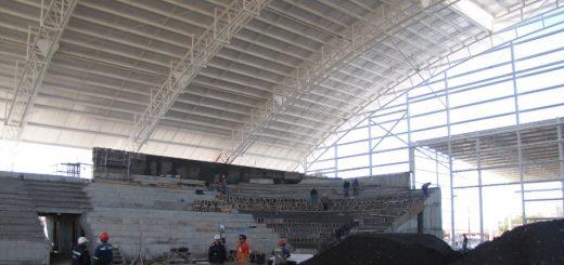 Polideportivo no puede ser terminado porque faltan cerca de mil millones de pesos informó alcalde de Los Ángeles