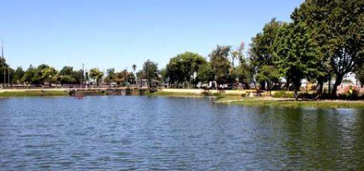 Municipio realiza obras de mejoramiento en Laguna Esmeralda de Los Ángeles