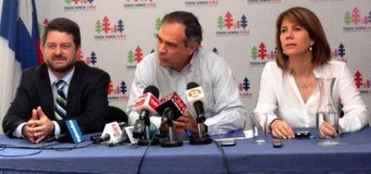 Claudio Orrego gana primarias de la DC, en Los Ángeles se impuso Ximena Rincón
