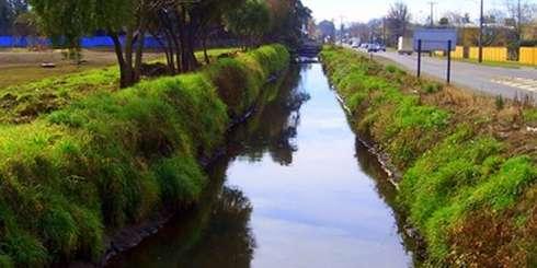 Limpieza de canales, implementación de estacionamientos, jardineras, corte de pastizales realiza personal municipal en la comuna