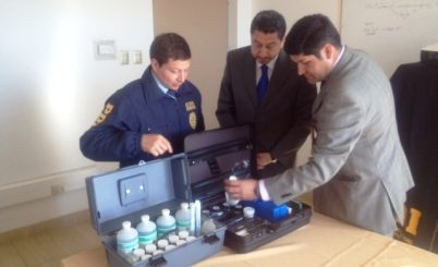 PDI de Los Ángeles recibe nuevos maletines para la investigación criminalística
