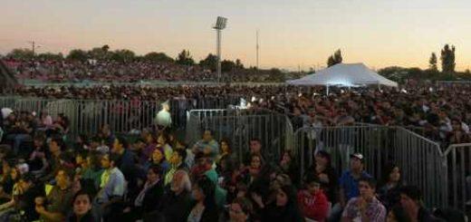 Más de 10 mil personas disfrutaron del espectáculo Puro Chile realizado en Los Ángeles