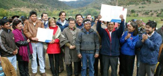En Alto Bio Bio se efectuó mayor entrega de tierras a comunidades indígenas llevada a cabo en Chile