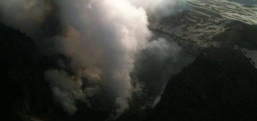 Volcán Copahue, probabilidad de erupción violenta es de un 95%
