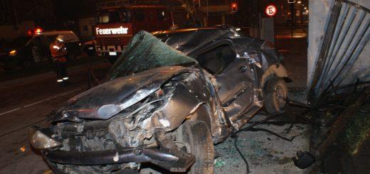 Un fallecido dejó accidente de transito en pleno centro de Los Ángeles registrado esta madrugada.