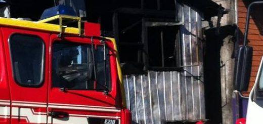 Tragedia en San Rosendo; Incendio deja como saldo dos menores y un adulto fallecidos