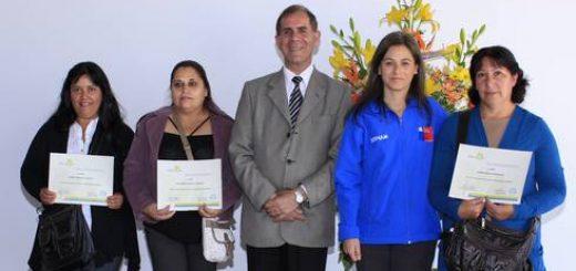 Mujeres de Los Ángeles y Cabrero se capacitaron a través de iniciativa de la CChC y el Sernam