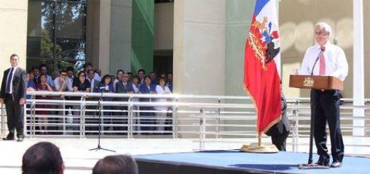 Presidente Sebastián Piñera inaugura nuevo edificio del Centro Asistencial de Los Ángeles