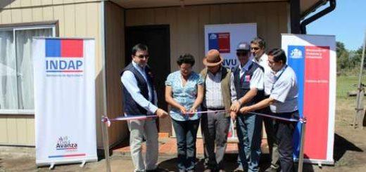 MINVU e INDAP Bío-Bío entregaron las primeras viviendas rurales del país