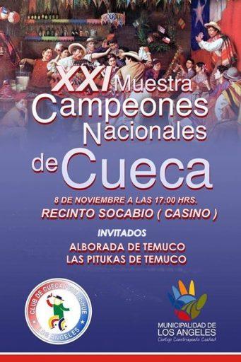 XXI Muestra Campeones Nacionales de Cueca / Los Ángeles