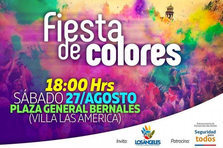 27 AGOSTO | Fiesta de Colores