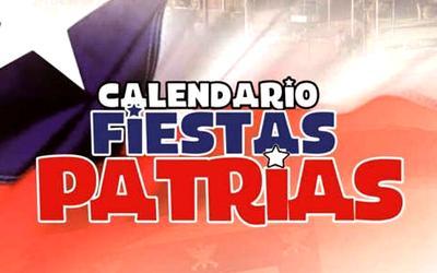 Programa Fiestas Patrias;