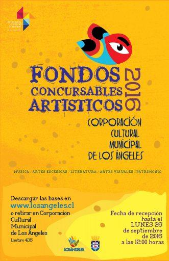 Fondos Concursables Artísticos / Los Ángeles