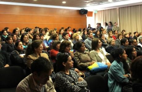 Los Ángeles: Charla De Participación Social y Derechos Ciudadanos de las Mujeres