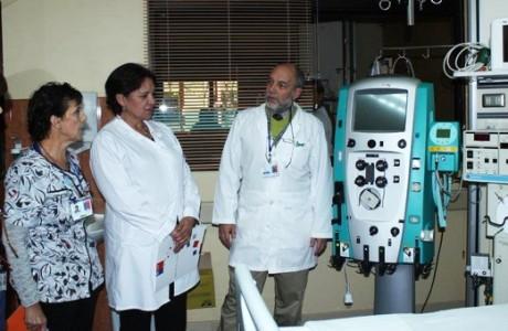 Nuevo equipamiento fortalece Unidad de Pacientes Críticos del Hospital de Los Ángeles