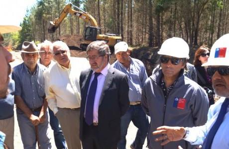 Inversión de 605 millones de pesos destinan para reposición de Sifón Coreo en Llano Blanco