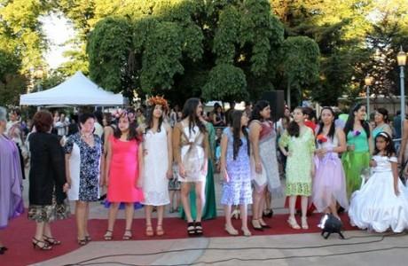 Alumnas del taller de corte y confección del Centro Integral de la Mujer exhibieron sus diseños