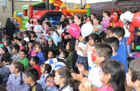Municipio Angelino celebró en grande a sus niños con entretenida Fiesta de Navidad
