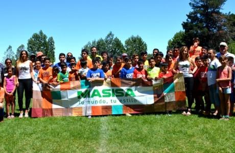 """Copa Masisa """"Unidos por el Deporte"""" convocó a niños y niñas de Cabrero, Monte Águila, Yumbel y Los Ángeles"""