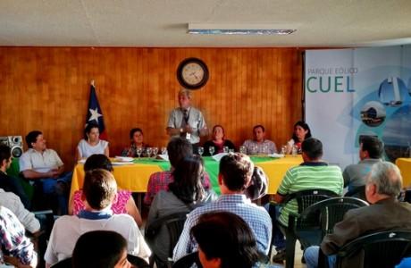 Parque Eólico Cuel entregó fondos de inversión comunitaria a JJVV cercanas al proyecto