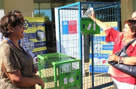 Servicio de Salud Bío Bío y hospital angelino inician reciclaje de botellas de plástico y latas