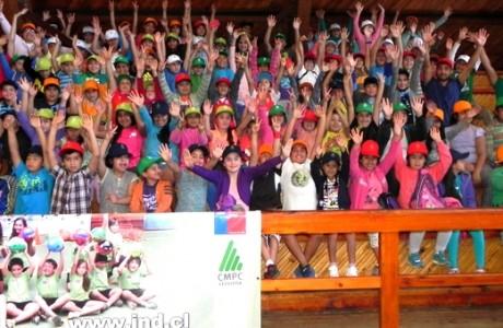 CMPC Celulosa despliega programa recreativo abierto a toda la comunidad