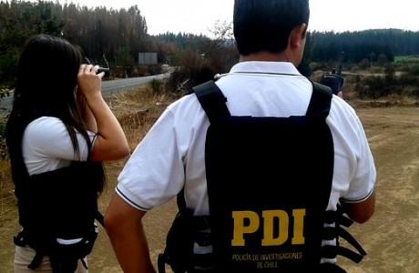 PDI de Los Ángeles y Cabrero realizan patrullajes para prevenir incendios forestales en la Provincia de Bío Bío