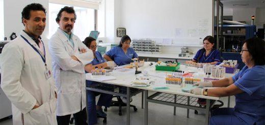 Jefe de Laboratorio del Hospital Sotero del Río