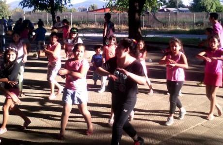 Vecinos de San Carlos Purén disfrutaron de mini olimpiadas recreativas
