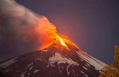 Monitoreo actualizado Alerta Roja por actividad del volcán Villarrica
