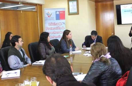 Avances concretos hacia una política comunal, destacaron tras primera reunión de la Red Intersectorial de la Infancia