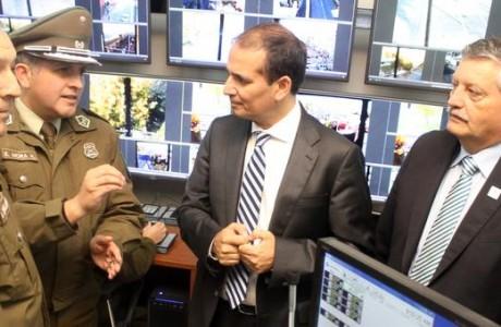 Uno de los sistemas de seguridad más modernos del sur de Chile es inspeccionado por autoridades