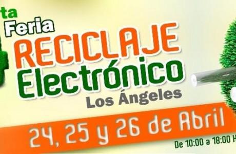 Nueva versión de Feria Reciclaje Electrónico Los Ángeles será abierta a otras comunas de la provincia