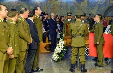Con la presencia del General Director de Carabineros despiden a Cabo 2do Alejandro Gálvez Gálvez