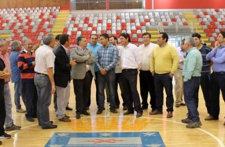 Evalúan sede angelina para los Juegos Binacionales Araucanía 2016